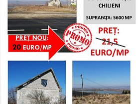 Teren constructii de vânzare, în Chilieni