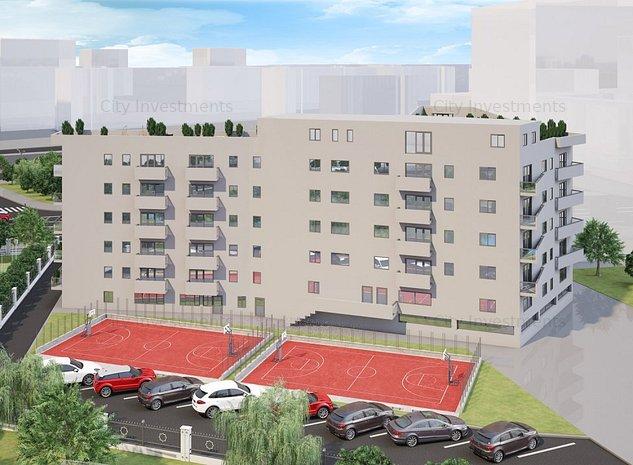 Timpuri Noi- bloc nou 2021, studio superb de vanzare 49 mp - imaginea 1