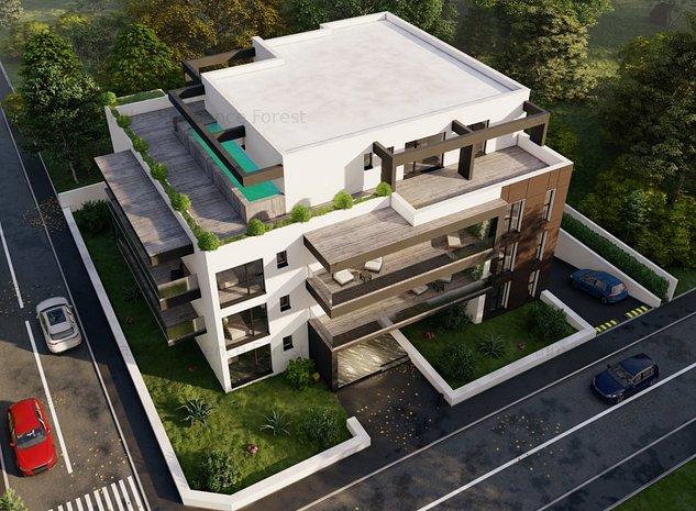 Penthouse 5 camere,cu Piscina Proprie, Iancu Nicolae,cu terasa de 153 mp - imaginea 1
