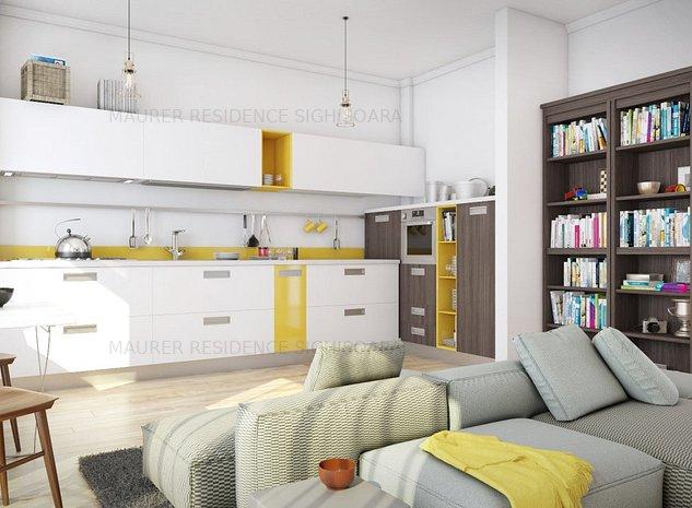 Apartament tip studio de vanzare 49.3 mp utili - imaginea 1