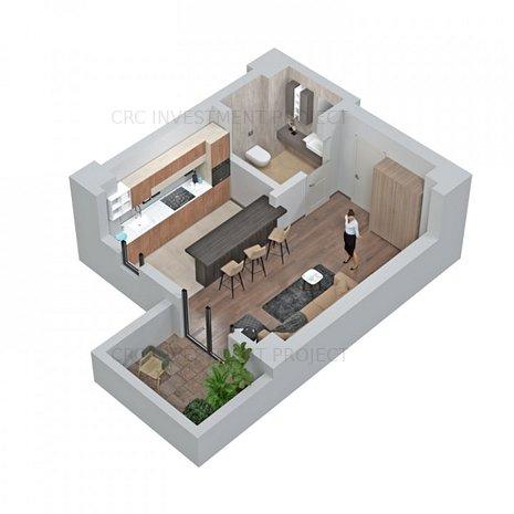 Central Address Residence - GARSONIERA - imaginea 1