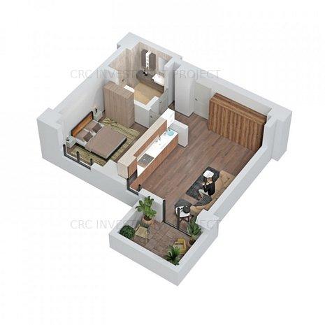 Central Address Residence - APARTAMENT 2 CAMERE - imaginea 1