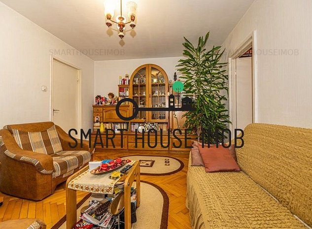 Apartament cu 2 camere de vanzare in Astra, etaj intermediar! - imaginea 1