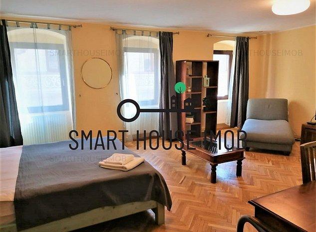 Apartament de 2 camere de inchiriat, 100 mp, in Centrul Vechi - imaginea 1
