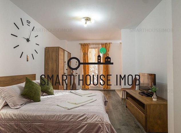 Studio mobilat si utilat de vanzare in Seasons Residence cu curte proprie! - imaginea 1