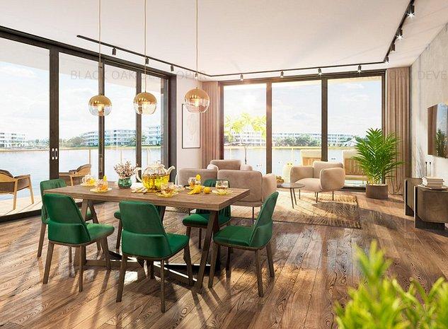 Apartament 2 camere pe malul lacului Straulesti - imaginea 1