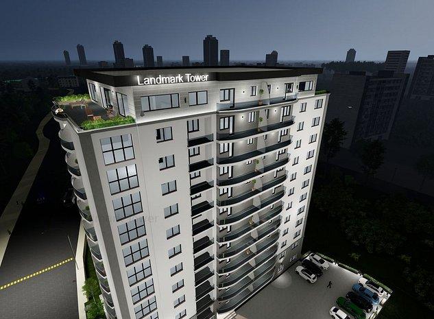 2 camere Landmark Tower confort sporit vedere parc Lunca Argesului - imaginea 1
