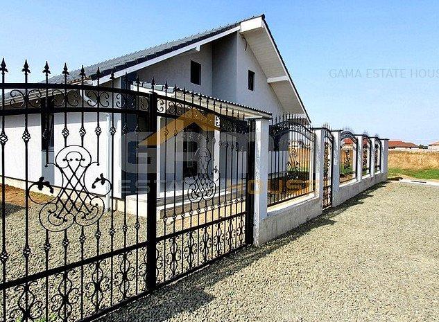 Casa noua cu 4 camere, semifinisat, 600 mp teren, 2021, Vladimirescu - imaginea 1