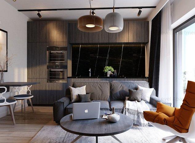 Studio – 1 camera – Straulesti - Petrom City – Bloc Nou – Complex Level II - imaginea 1