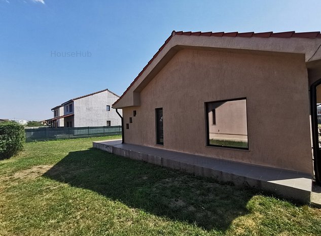 Casa individuala de inchiriat 600 mp-parcela  Prima inchiriere. - imaginea 1
