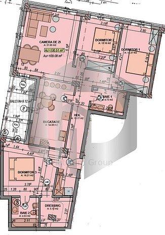 Compartimenteaza exact cum iti doresti   Apartament De LUX   109mpu - imaginea 1