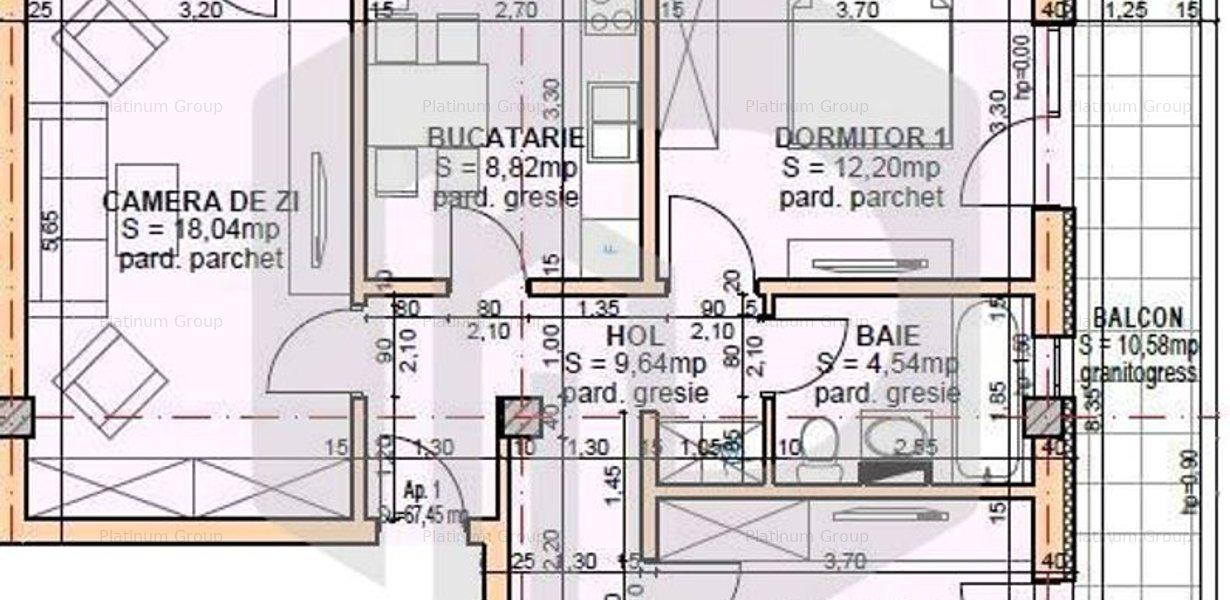 Apartament 3 camere INTABULAT - Turnisor - Sos. Alba Iulia - imaginea 1