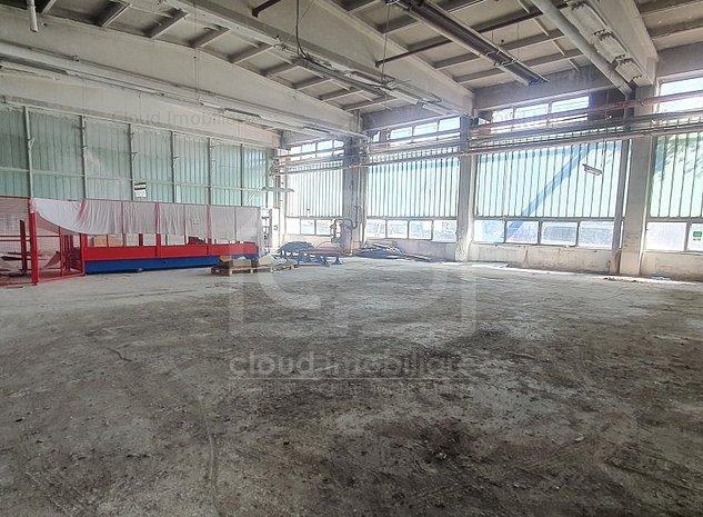 Hala industriala 500 mp, inaltime 9 m, zona str. Muncii - imaginea 1