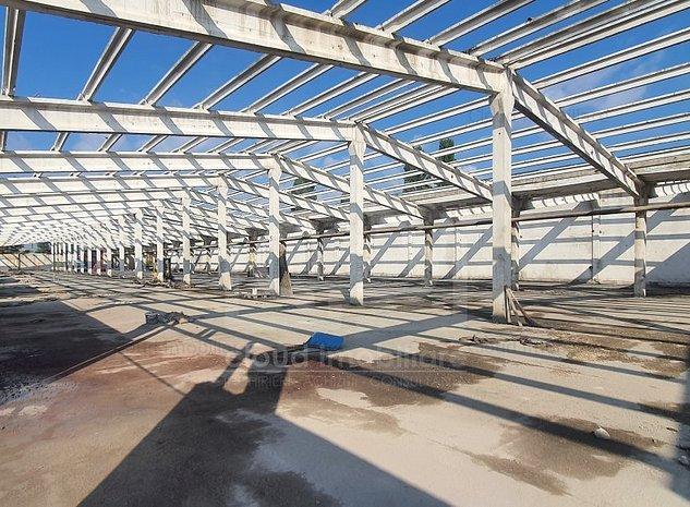 Hala depozitare productie, 1000 mp, h 6m , zona str. Muncii - imaginea 1
