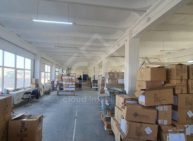 Spatiu productie/depozitare, 600 mp, h 4m, zona Piata 1 mai - imaginea 1
