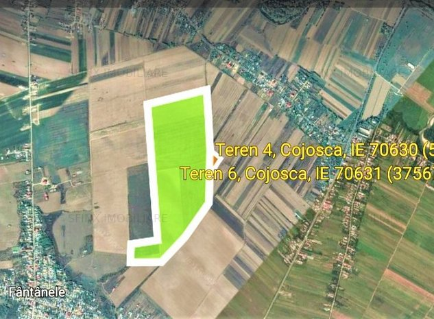 De vanzare - 81 Ha Teren agricol Judet Dambovita - imaginea 1