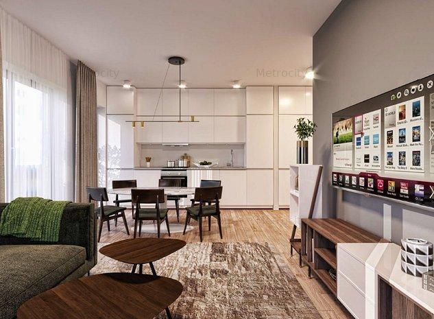 Apartament Nou 2 Camere Rezidential MetroCity Chitila - imaginea 1