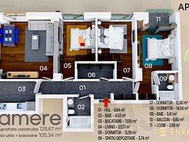 Apartament de vânzare 4 camere, în Constanţa, zona Energia