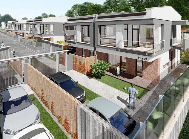 #Vila Duplex  #Zona linistita #Teren extins #Gradina - imaginea 1