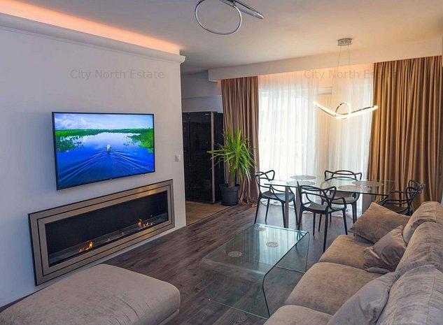 Apartament 3 camere │ Barbu Vacarescu │ Belvedere Residence - imaginea 1