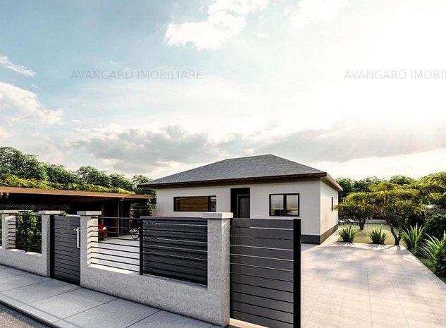 Casa Individuala | 110 mp utili | 625 mp curte | Popesti Vale! - imaginea 1