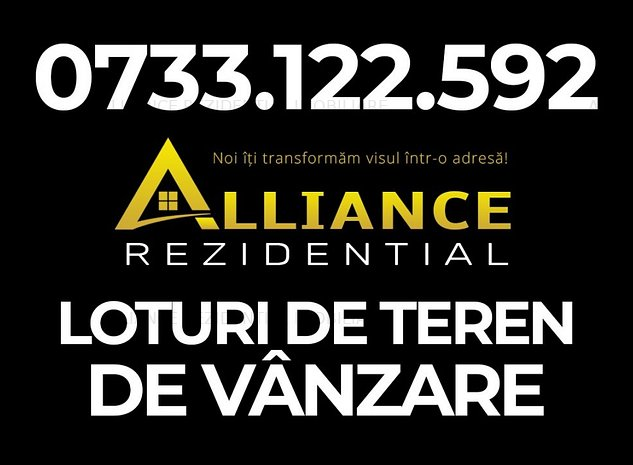 Cartie ALLEGRIA  - Teren 9000mp - PUZ P+5E - imaginea 1