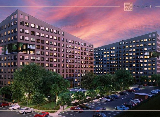 AVANS DOAR 10% Apartament cu 2 camere CONCEPT 9 - imaginea 1