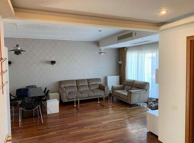 Floreasca / Parcul Verdi închiriere apartament 3 camere mobilat etaj 4/5 - imaginea 1