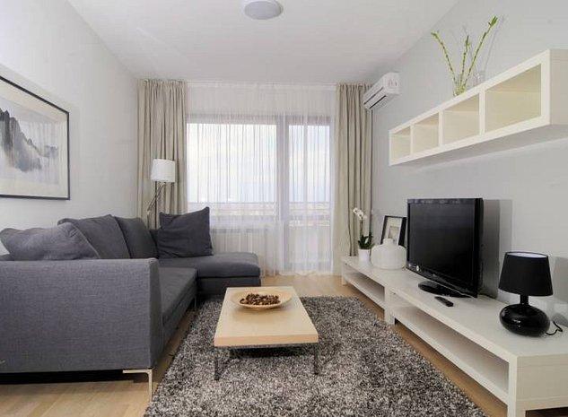Apartament 2 camere mobilat lux in Baneasa - imaginea 1