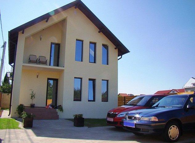 Vand vila la cheie, situata in Pitesti, Trivale, Str. Campului - imaginea 1
