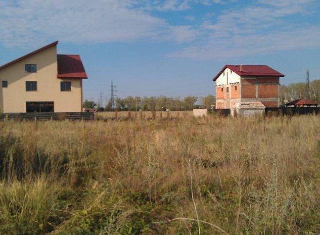 Teren de casa la CERNICA in zona Nature Delight & Cernica Rezidence, Ettinger - imaginea 1