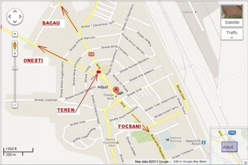 Teren La Drum European E85 Dn2 Intersectie Cu Dn11a Teren