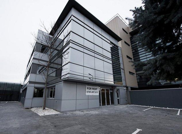 Spatiu intr-un imobil de birouri - zona Barbu Vacarescu - imaginea 1