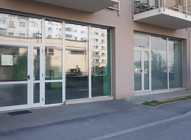 PJ inchiriaza spatiu comercial compartimentabil 305 m2 in FloraParc Manastur - imaginea 1