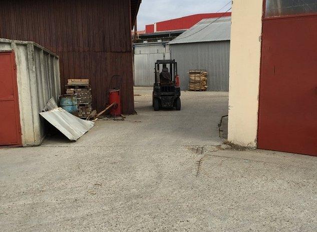 Vanzare teren, spatiu industrial 2400 mp,  pretabil service auto, depozit online - imaginea 1