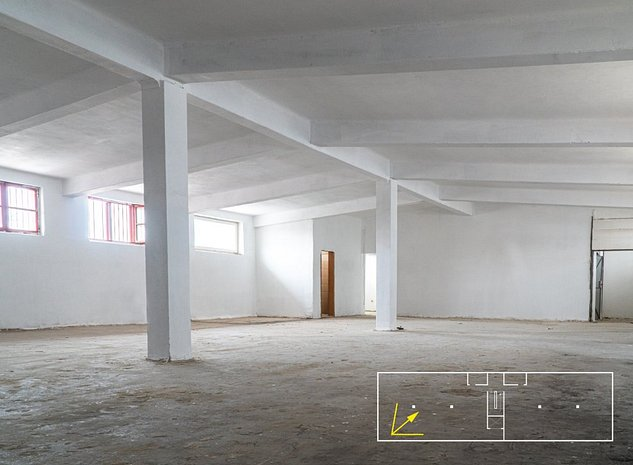 Spatiu open-space 380 mp / 2 x 190 mp - imaginea 1