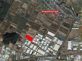 Vânzare spaţiu industrial în Dragomiresti-Deal