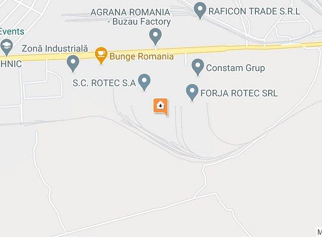 vânzare teren şi clădiri în zona industrială - imaginea 1