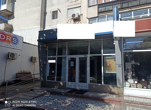 Fost sediu de banca, 3 camere, 107 mp, 4,75 m deschidere pe Bvd Bucuresti - imaginea 1