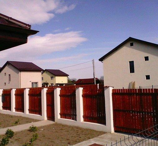 Case nou construite parter 3 camere 104mp chitila sabareni for Case parter 3 camere
