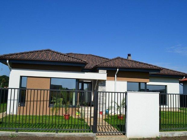 Casa pe parter stil mediteranean casa vila cu 4 camere for Case parter 3 camere