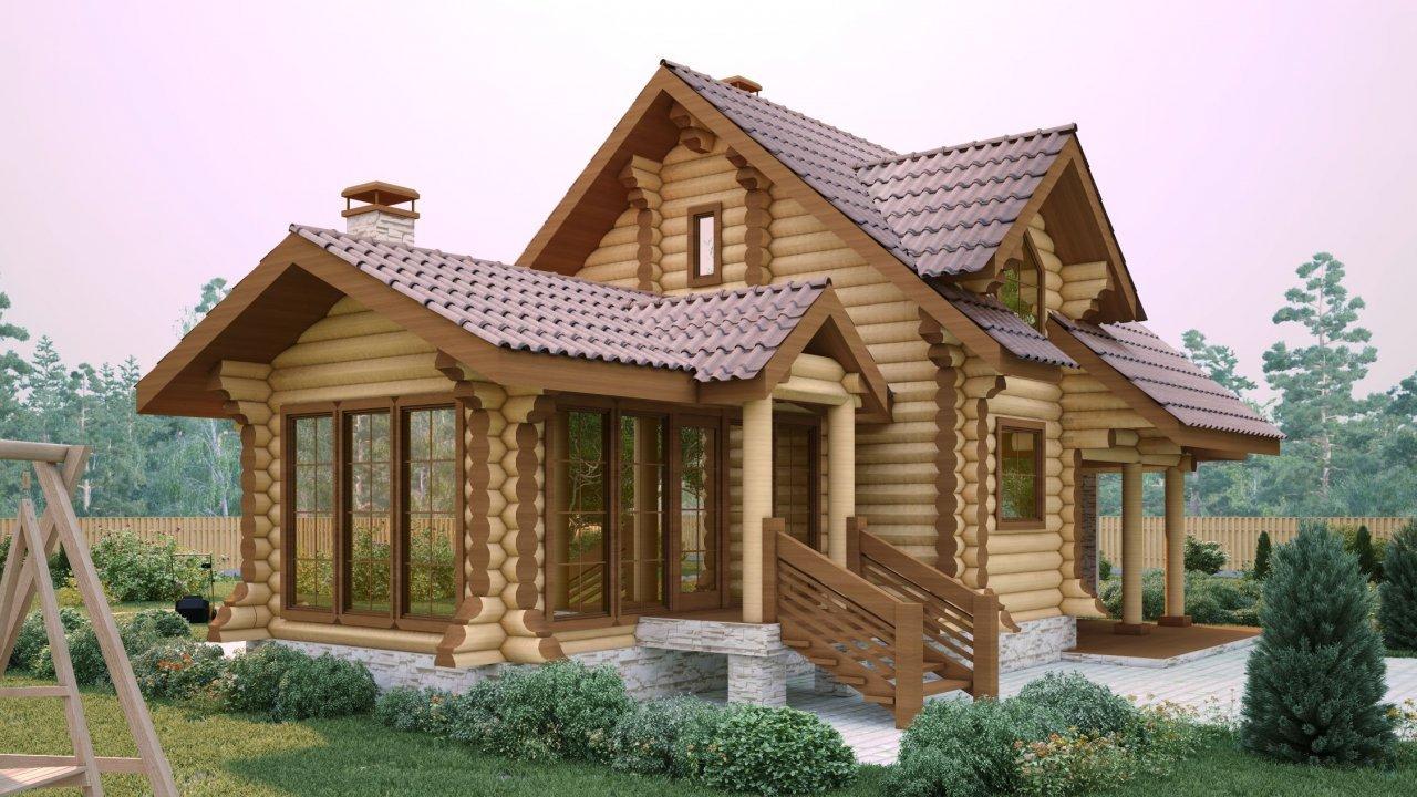 Casa Din Lemn Rotund Casa Vila Cu 3 Camere De Vanzare In Cozmeni Judetul Harghita Xv0301v6l 19 000 Eur