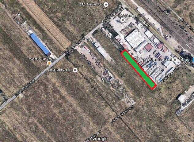Teren intravilan industrial Magurele - Centura Bucuresti - imaginea 1