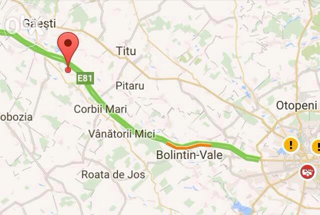 Vand Teren Intravilan 2400 M2 Comuna Uliesti Km 64 A1 Drum