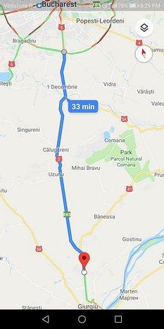 Teren 45km Bucuresti 5000mp DN5 Giurgiu Stradal 20ml iesire parau - imaginea 1