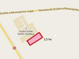 Teren agricol de vânzare, în Lugoj, zona Central