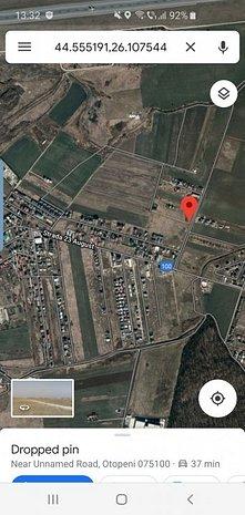 Teren Otopeni 9600mp parcelabil 23 August, utilitati - imaginea 1