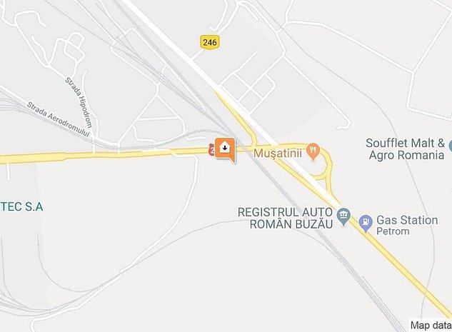 Teren zona industriala Buzau - imaginea 1