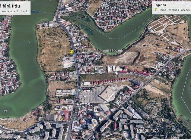 Proprietar vand teren cu deschidere la Soseaua Fundeni - imaginea 1