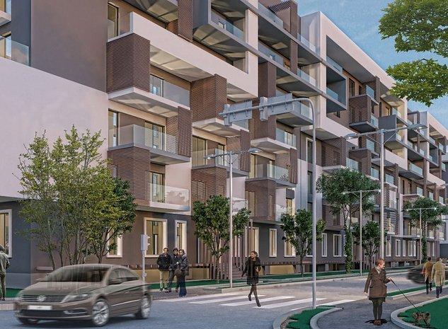 Teren Proiect Autorizat, 170 apart., 15.960 mp Constr, Metro Straulesti - imaginea 1